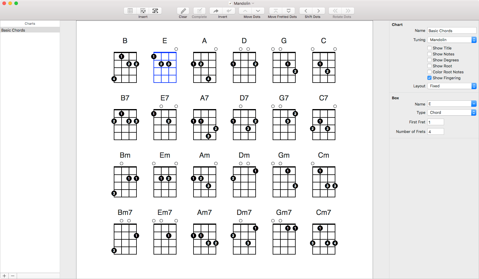 Fretspace Guitar Chord And Scale Editor For Mac