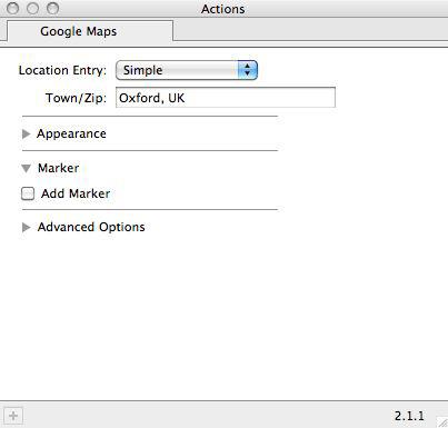 Print Article - Google Maps Action