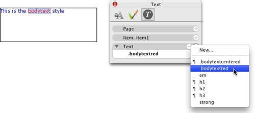 Softpress KnowledgeBase :: Creating Custom CSS Styles in Freeway